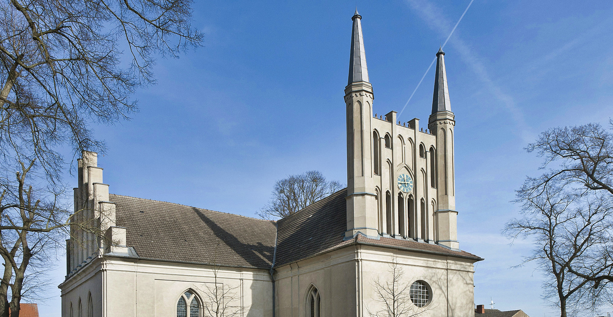 Kirchen sind tolle Denkmäler, z.B. die Stadtkirche Joachimsthal in Brandenburg