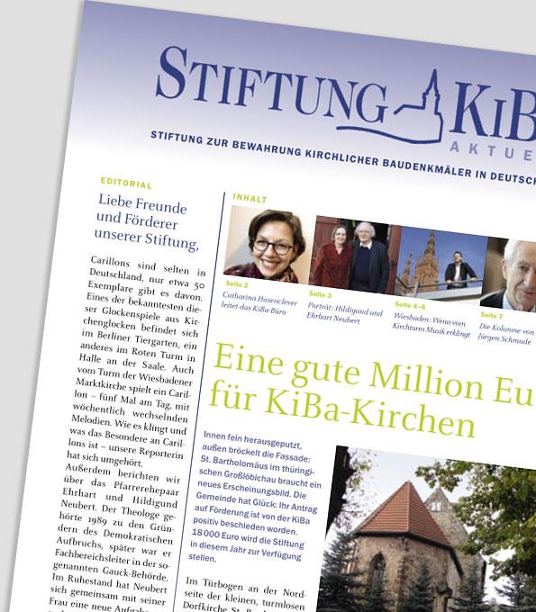 Cover - KiBa aktuell 1/2018