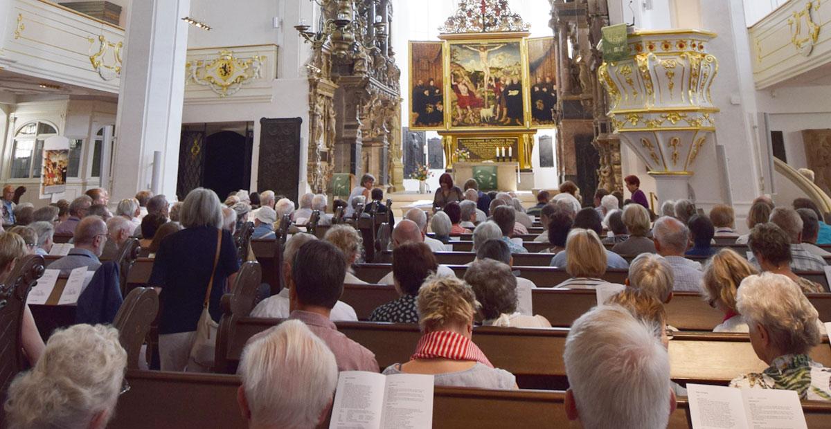 Festgottesdienst zur KiBa-Mitgliederversammlung in der Herderkirche zu Weimar