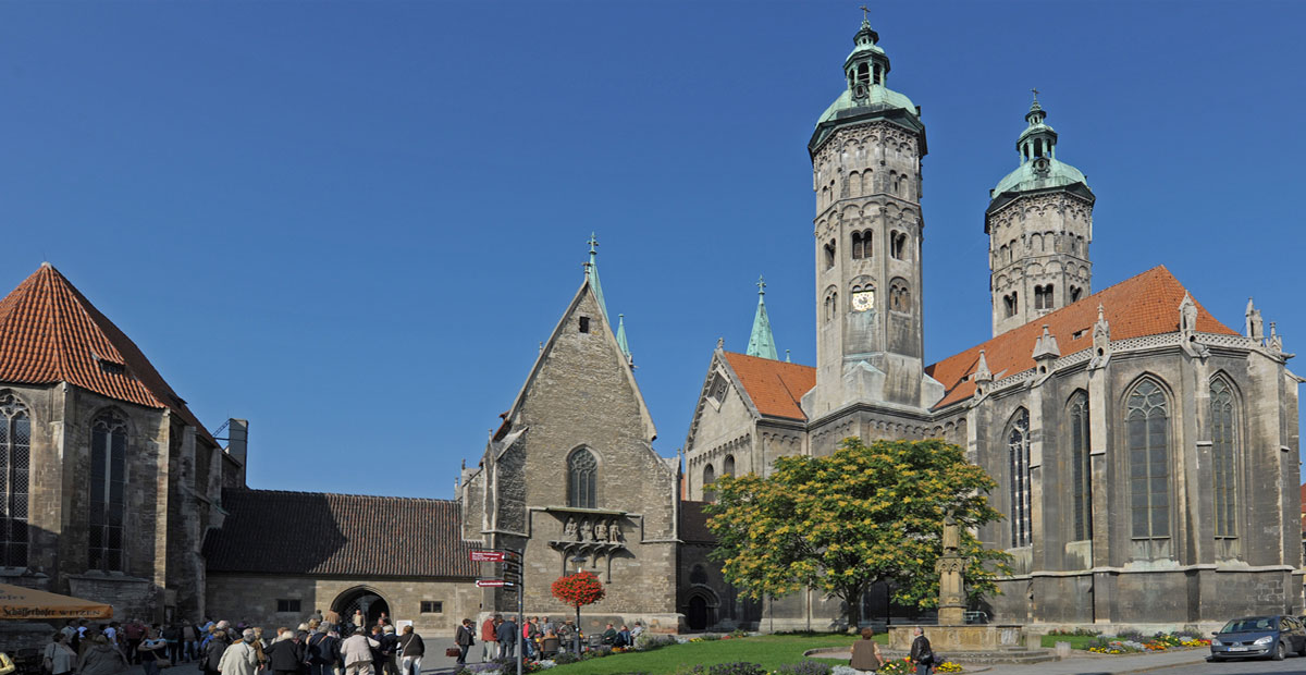 Domplatz in Naumburg (Saale)