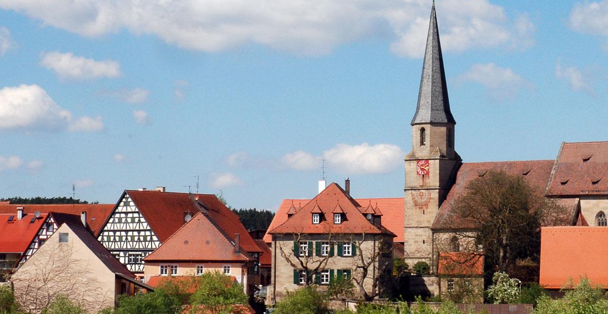 Rieter-Kirche in Kalbensteinberg