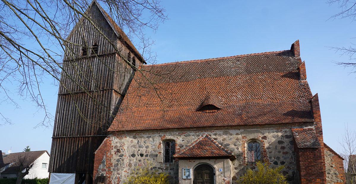 Dorfkirche Rossow im Kreis Ostprignitz-Ruppin