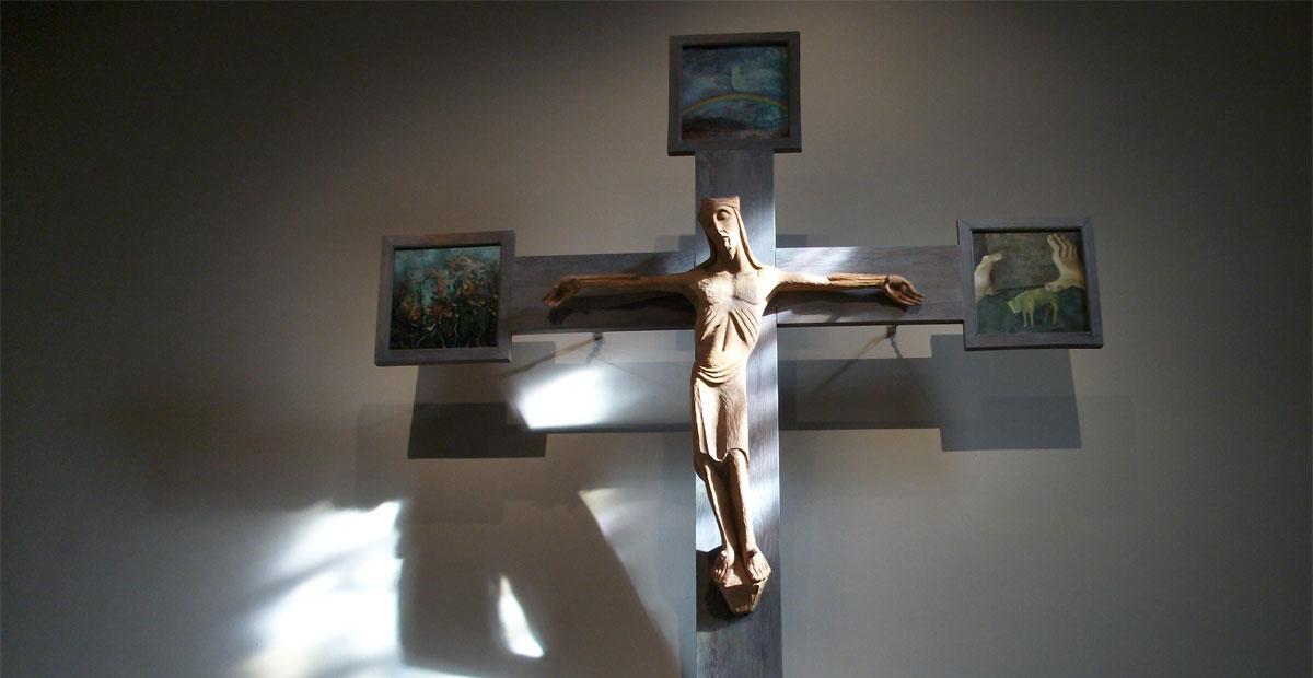 Kruzifix in der Christuskirche Gelsenkirchen