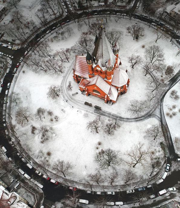 Pauluskirche Halle - das Siegerbild des Fotowettbewerbs