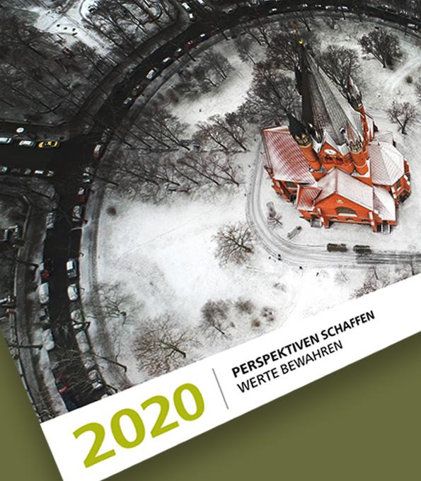 Kirchenkalender für 2020 der Stiftung KiBa und der KD Bank