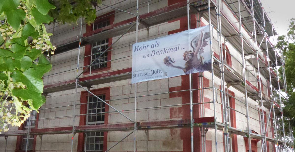 Die KiBa fördert die Sanierungs der Michaelskirche Fechheim
