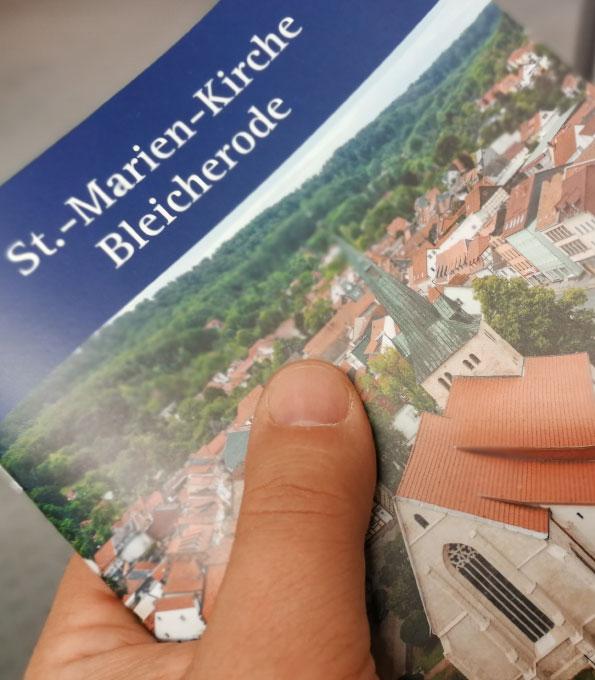 Kunstführer St. Marien Bleicherode