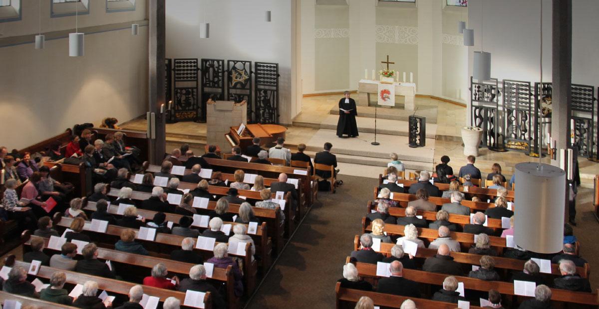 Gottesdienst in der Christuskirche Oberhausen