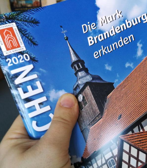 """Jahresbroschüre """"Alte Kirchen 2020"""""""