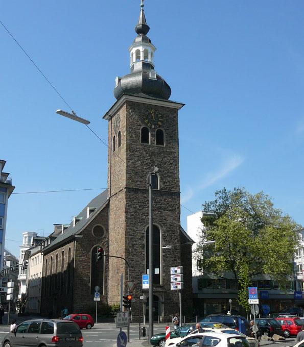 Kirche am Kolk in Wuppertal-Elberfeld
