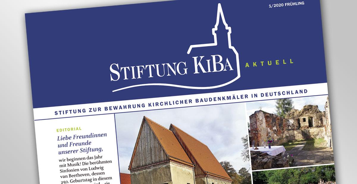 Stiftungsrundbrief KiBa aktuell 1/2020