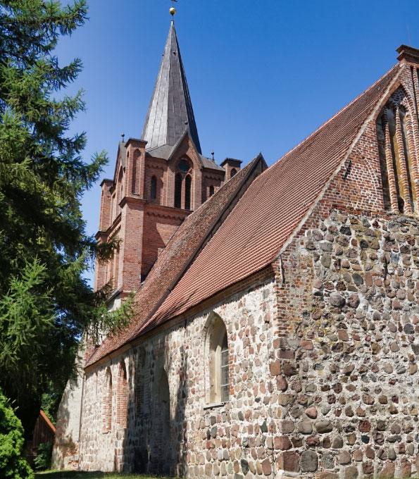 Dorfkirche Ranzin im Kreis Vorpommern-Greifswald