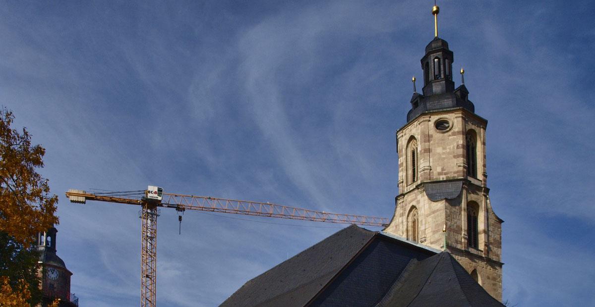 St. Johannis Schleusingen (Thüringen). 2020 von uns gefördert.