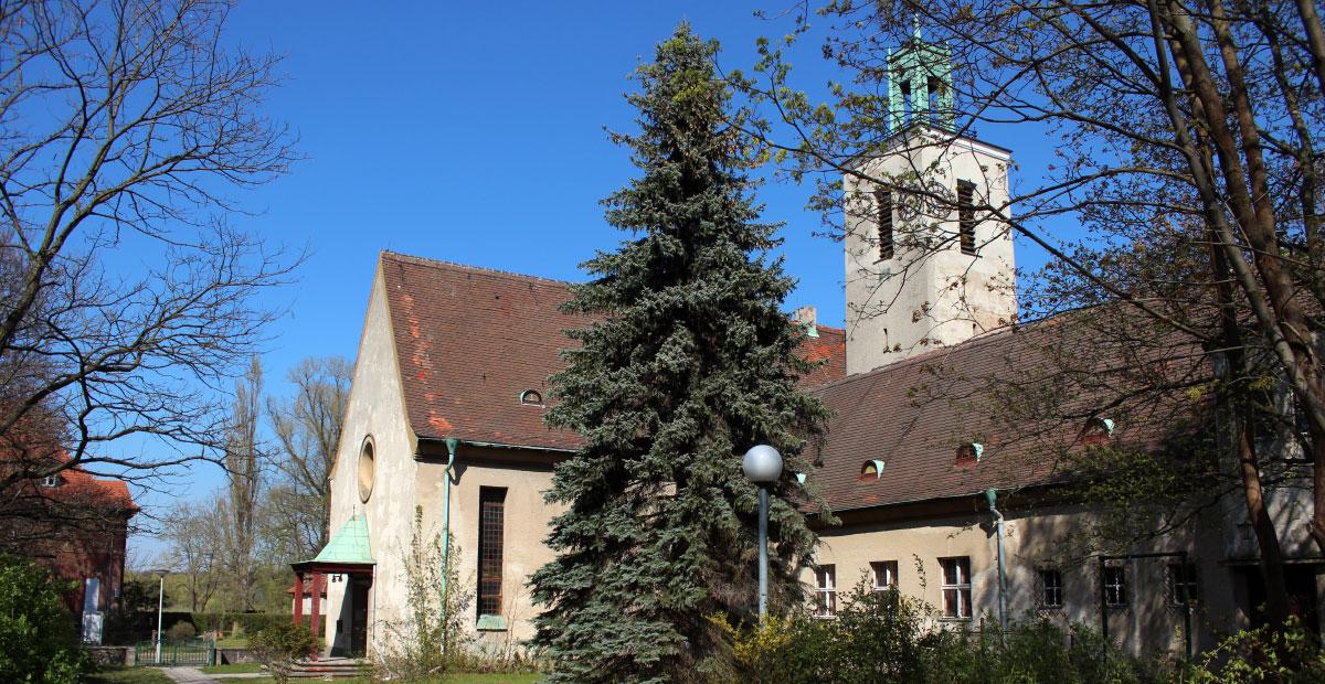 Westkirche Kirchmöser in Brandenburg
