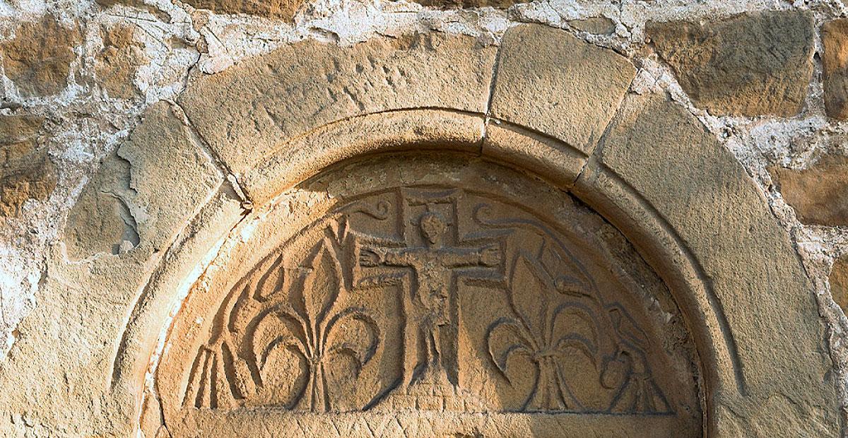 Portal an der Dorfkirche Hassel (Sachsen-Anhalt)