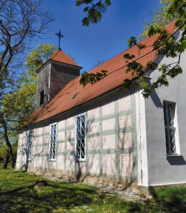 Fachwerkkirche Seehausen in der brandenburgischen Uckermark