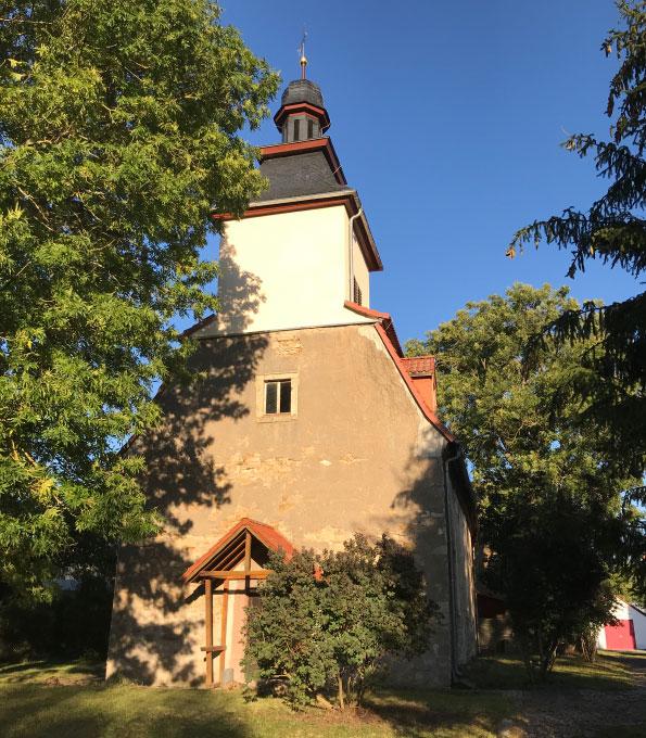Dorfkirche Riethgen im thüringischen Sömmerda