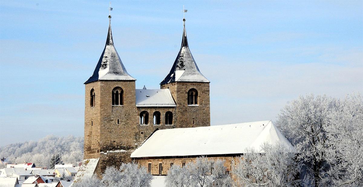 Stiftskirche St. Cyriakus in Frose (Sachsen-Anhalt)