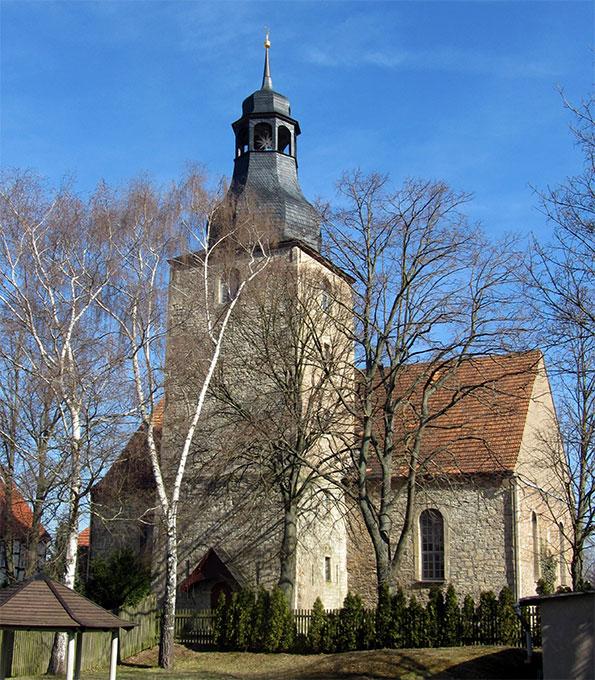 St. Nikolai Niedergebra (Thüringen), 2021 von uns gefördert