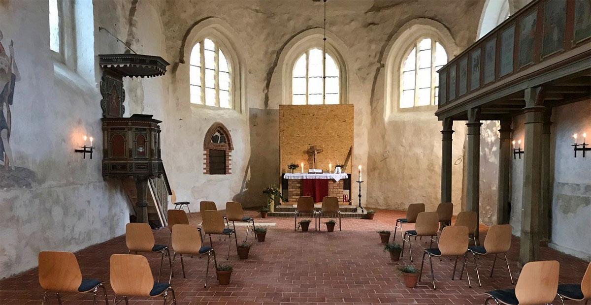 Zwölfapostelkirche in Züssow (Mecklenburg-Vorpommern)