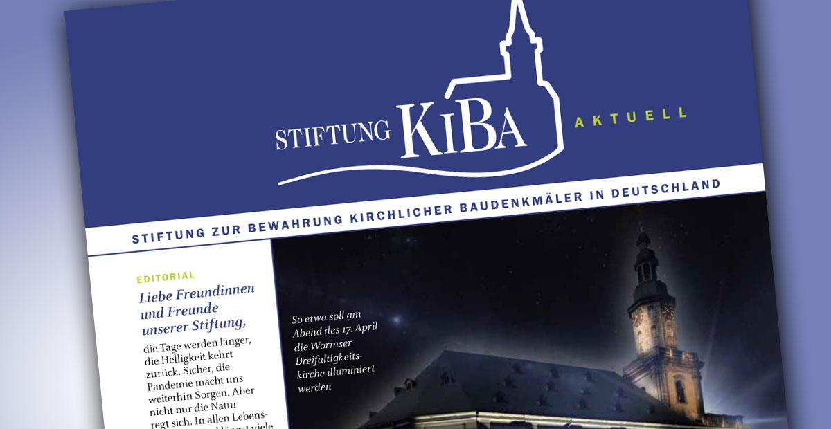 Stiftungsrundbrief KiBa aktuell 1/2021