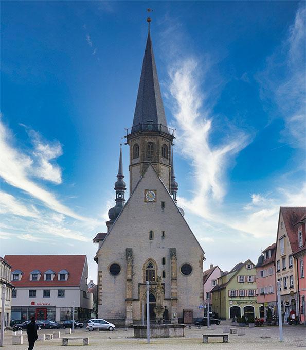 Stadtkirche St. Georg zu Weikersheim (Baden-Württemberg)