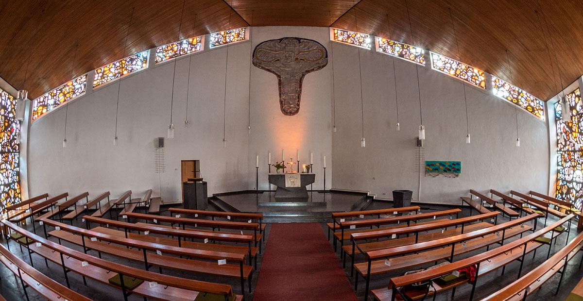 Innenraum der Gnadenkirche Münster