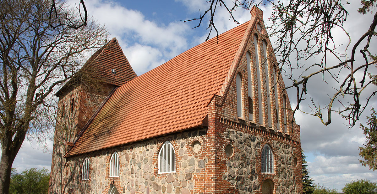 Dorfkirche Hohen Pritz (Mecklenburg-Vorpommern) - 2020 von uns gefördert
