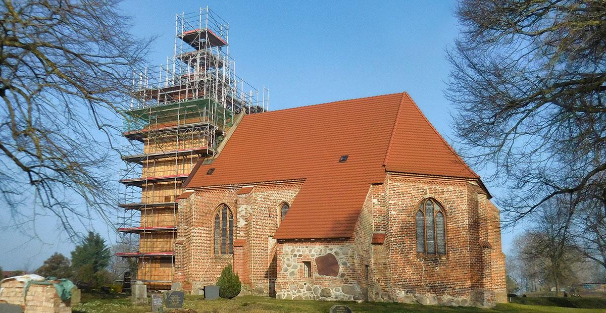 Dorfkirche Retschow (Mecklenburg-Vorpommern), 2020 von uns gefördert